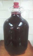 4.5L BLACKBERRY WINE Recipe in archive