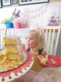 birthday party princess years fairy baby happy toddler ainsley birth