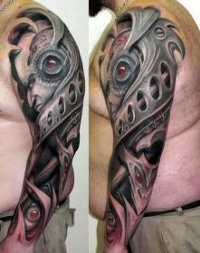 tattoos arm tattoo 3d arms forearm mens designs sleeve male upper