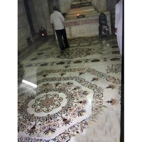 floor tiles marble temple inlay square thickness mm