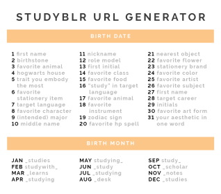 aesthetic usernames generator studyquill whats
