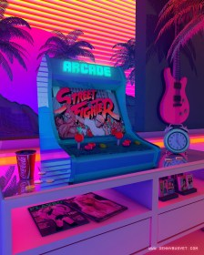80s / 90s Aesthetic Nostalgia Fueled By Synthwave