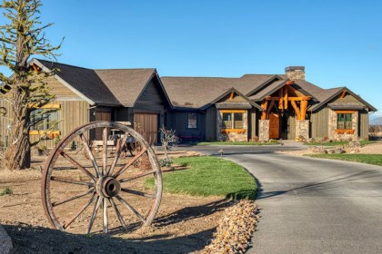ranch rustic modern homes brasada dr building loan steps construction getting cnc decor theme rock cabin consultation schedule