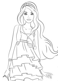 Coloring pages for 8,9,10 year old girls to download and