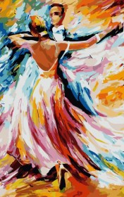 acrylic painting easy beginners canvas try paintings paint cartoondistrict peinture simple dance lire