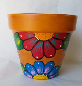 pot painting designs easy beginners pots source