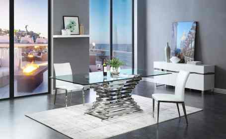 table glass dining modern tables rectangular crawford modrest interior layout decor buildings choice commercial why trend galore continue views