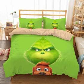 How the Grinch Stole Christmas #1 Duvet Cover Quilt Cover