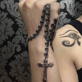 The 115 Best Rosary Tattoos for Men Improb