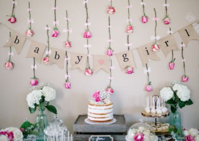 shower decorations rustic floral mommy flowers decor showers para themes flower diy rose backdrop bring chá budget diary babyshower centerpieces