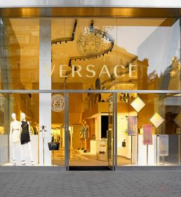 Luxurious Heritage Boutiques : Versace Barcelona Store