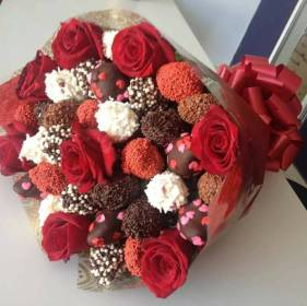 chocolate chocolates rosas ramo bouquet