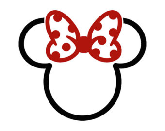 minnie outline head mouse mickey tattoo designs clipartmag