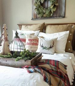 bedroom christmas decor rustic decorating jodie thedesigntwins via classic holiday decorations cozy brasslook