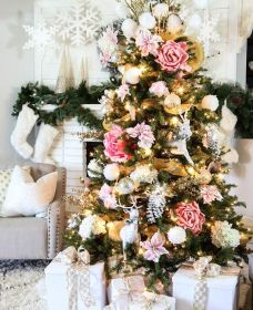 christmas tree navidad arboles pink decorating tendencias aesthetic originales michaels creative