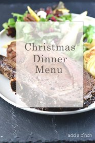 dinner christmas menu ahead holiday dinners addapinch easy recipes possible lunch meal pinch xmas much tips making table serve gathering
