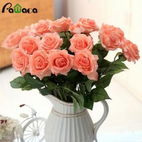 flowers touch bouquets wedding roses flower blooming artificial decorative quality party