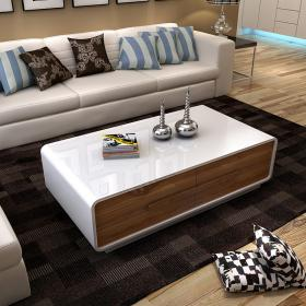 Modern paino painting center coffee table and tv stand furniture for living room 130X70X38cm