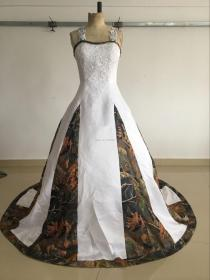 camouflage dresses camo cheap plus appliques weddings gown stunning ball selling beads lace
