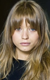 bangs flequillo face round fringe cut cabello pelo cortes hair rounded hairstyles blonde little short haircut archzine fleco largo framing