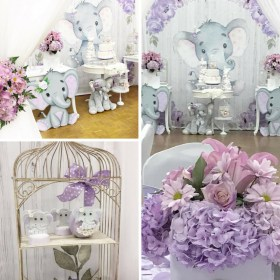 elephant baby shower springtime decorations theme party games themes knows bring angel always babyshowerideas4u