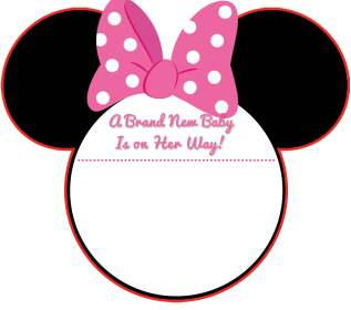 NEW! FREE Printable Mickey Mouse Baby Shower Invitation