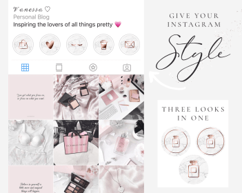 instagram gold rose icons story marble highlight pink covers beauty highlights peach blush grey silver pretty orange glitter stories app