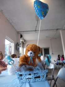 mesa shower para baby peluche centro oso flickr pro sign