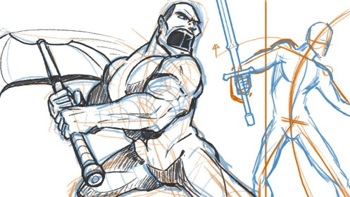 drawing poses fighting fight battle pose sword draw dramatic weapons action dynamic scenes reference drawings tutorial getdrawings zeichnen posen zeichnung