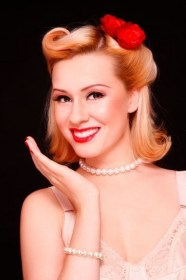 50s hairstyles short hair easy hairstyle 1950s retro styles woman long haircuts blonde rockabilly pinup makeup sock hop inspired quinceanera