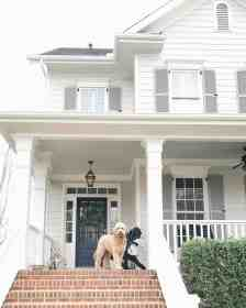 exterior paint gray colors shutters door shutter siding trim colour front pewter trends benjamin moore charcoal brick kylie edesign slate