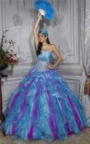 Turquoise Quinceanera Dresses Picture Collection Dressed