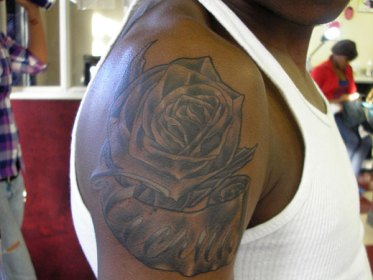 tattoo tattoos rose forearm arm simple shoulder sleeve designs awesome attractive cool idea half male gorgeous entertainmentmesh inked slodive chucky