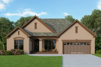 aguas dos techo fachada plans plan fachadas cypress ranch casas techos casa stucco floor homes exterior feet gardner modernas similar