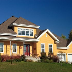 exterior colors trends popular paint yellow siding houses brick shutters roof dark homes handyman colour well shake schemes combinations should