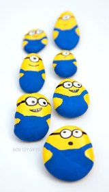 Painted Minion Stones Fun Family Crafts
