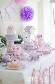 shower pink themed butterfly decorations lilac purple themes showers flowers karaspartyideas birthday gorgeous idea submitted decor babyshower cakes lavender princess