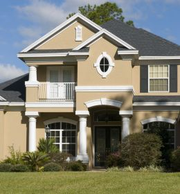 exterior paint schemes combinations colors colour colours wall florida combos cream brown gray homesfeed surroundings consider