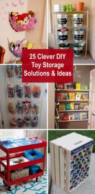 storage toy diy solutions clever toys