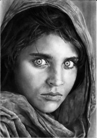 drawings afghan drawing pencil gula woman deviantart sketch face petronas inspiration sketches realistic draw easy hative portrait painting portraits afgan