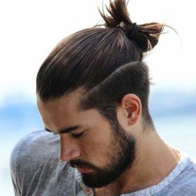 20 Fabulous Ponytail Hairstyles for Men [2018]