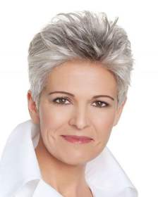 gray older hair short hairstyles hairstyle colors