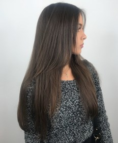long haircuts layered hair hairstyles layers trendy straight haircut very hairstylery cuts fine womans extra monique mercado styling via types