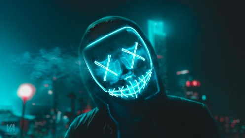 LED Mask 4K Wallpapers HD Wallpapers ID #28175