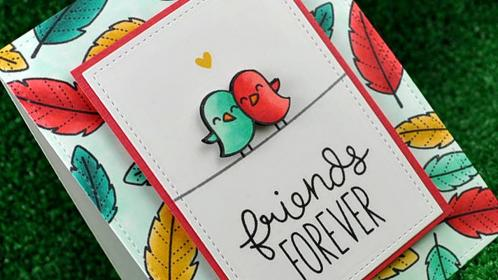 how to make a friendship card YouTube