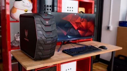 predator acer g6 gaming pc setup system aggressive desk mac cool tech accessories amazon must gamers inside