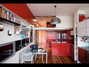 Ideas para distribuir una vivienda 30 m2 YouTube