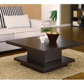 table living coffee furniture tables center modern square centre wood storage designs cocktail decor wooden drawing sofa farmhouse end coffe