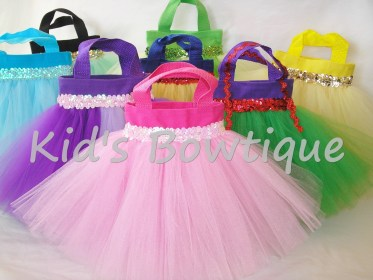 princess party bags disney birthday tutu favor princesses gift themed purses tote inspired unique pink decorations toddler sequins sweet dance