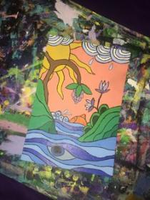 painting aesthetic canvas easy trippy drawings paintings acrylic disney hippie projects simple solimeo rebecca cool jazmin